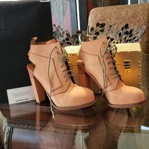 Alexander Wang lace up ankle Boots